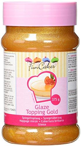 FunCakes Glaze Topping gold (1 x 375 g)