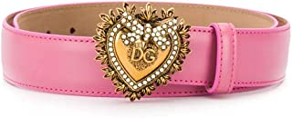 Luxury Fashion | Dolce E Gabbana Womens BE1315AK86186163 Pink Belt |