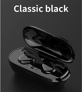 FidgetFidget TWS Wireless Headphones 5.0 Bluetooth Earphones Headset Cordless Headphone Mini Sports Earbuds Music Handsfree For Phones black