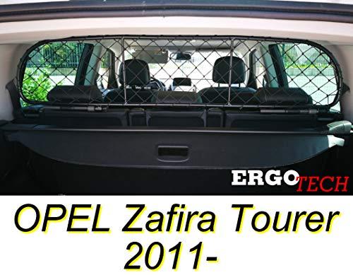 ERGOTECH Trennnetz Trenngitter Hundenetz Hundegitter RDA65-S14 für OPEL Zafira Tourer ab BJ 2011