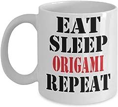 11oz Funny Origami Coffee Mug - Unique Cool Cute Humor Sarcasm Designer Gift Idea for Origami,al0891