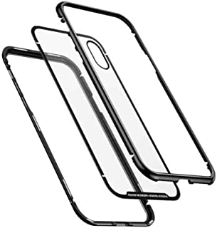 غطاء متعدد الوظائف لهاتفين مع غطاء جلدي لجهاز هاتف ايفون 6 اس بلس اس 7 ايدج وهاتف هواوي بي 9