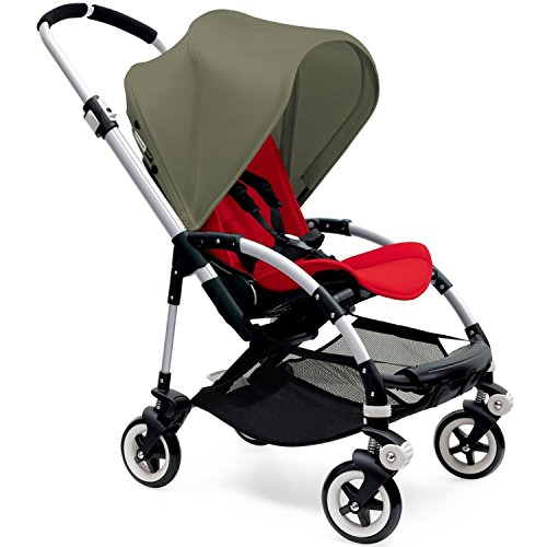 Why Should You Buy Bugaboo Bee3 Stroller - Dark Khaki - Red - Aluminum