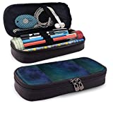 Space Leather Pencil Case School Supplies for School Office Supplies Students