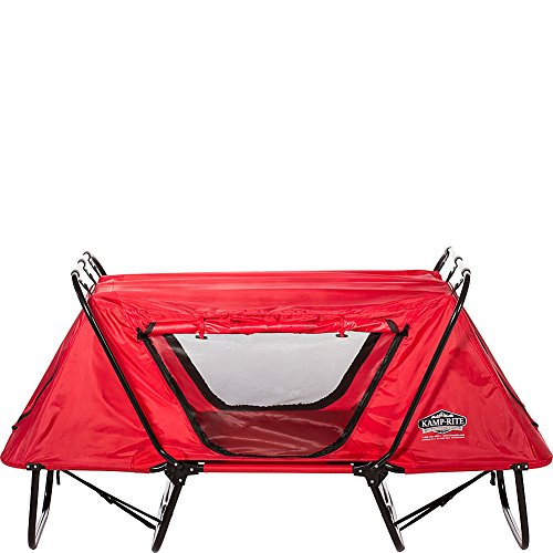 Kamp-Rite Kid Cot with Rain Fly, Red