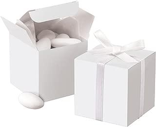 Wilton White Square Favor Box Kit, 100 Count, 1006-0631