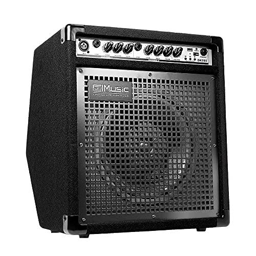 COOLMUSIC DK35S 50W Bluetooth Electric Drum Amplifier Keyboard Speaker with USB Input...