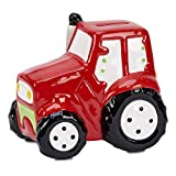 Creative Gifts International Ceramic Truck Bank, Red, 6 x 6