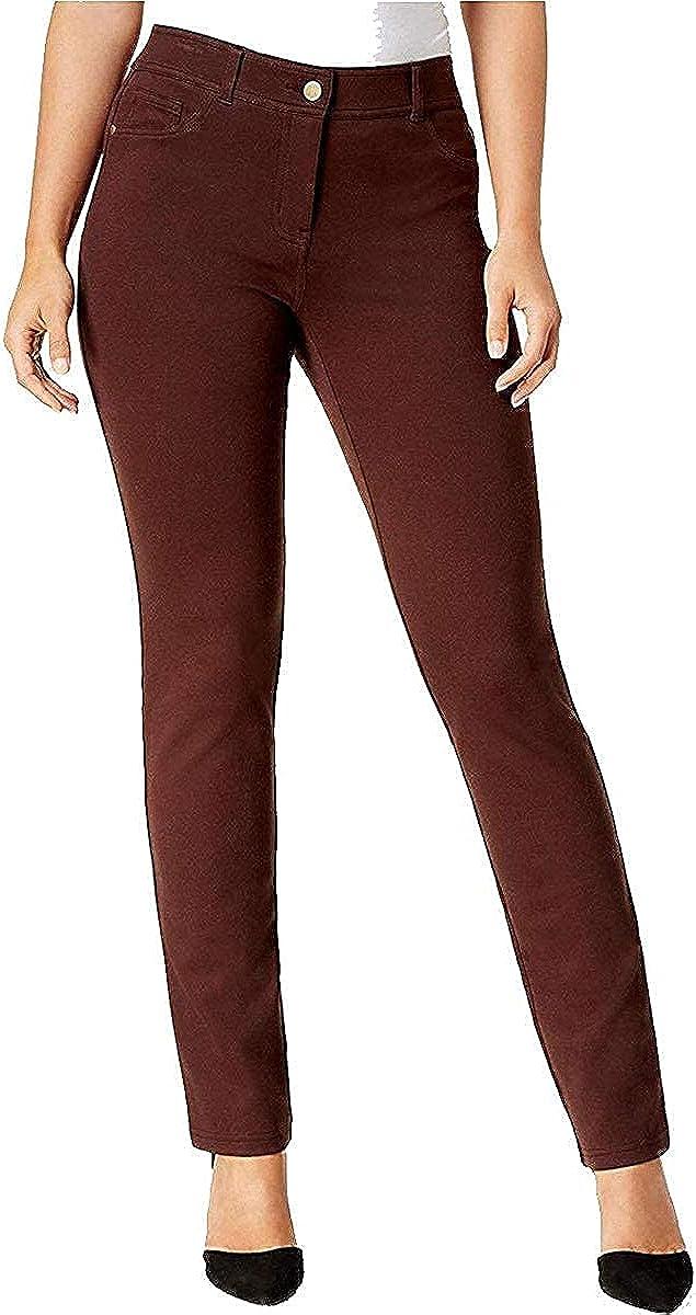 Style Surprise price Co Petite Tummy-Control 100% quality warranty Ri Straight-Leg 14 Jeans