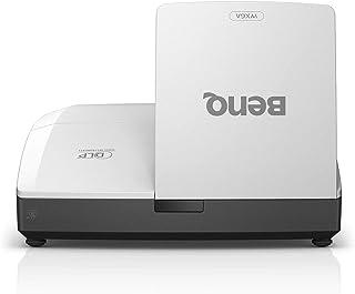 BenQ DLP 超短焦点プロジェクター MW855UST+ (WXGA 3500lm HDMIx1 D-sub x1 スピーカー10wx2 壁掛け金具同梱)