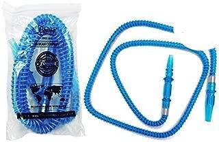 U Pick Color: Blue 74 Inch Ultra Premium Beamer Cafe Rubber Washable Hose + Limited Edition Beamer Smoke Sticker