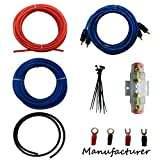 10 Gauge Amp Kit Amplifier Install Wiring Complete 10 Ga Installation Cables 600W …