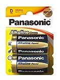 Panasonic Power LR20/D - Lote de 5 blísteres de 2 pilas alcalinas (1,5 V)