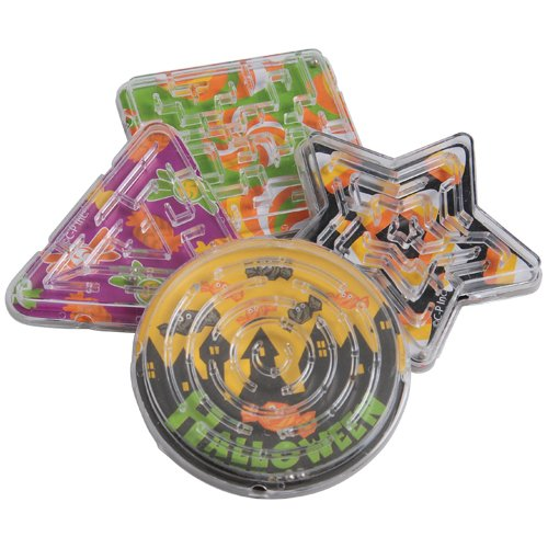 Buy DollarItemDirect Halloween Candy Maze Puzzles, Sold by 27 Dozens
