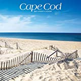 Cape Cod 2021 12 x 12 Inch Monthly Square Wall Calendar, Ocean Sea Coast Massachusetts