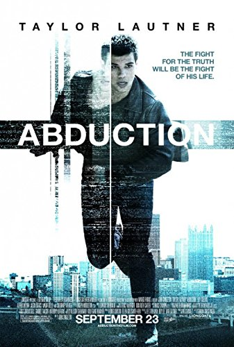 ABDUCTION MOVIE POSTER 2 Sided ORIGINAL 27x40 TAYLOR LAUTNER