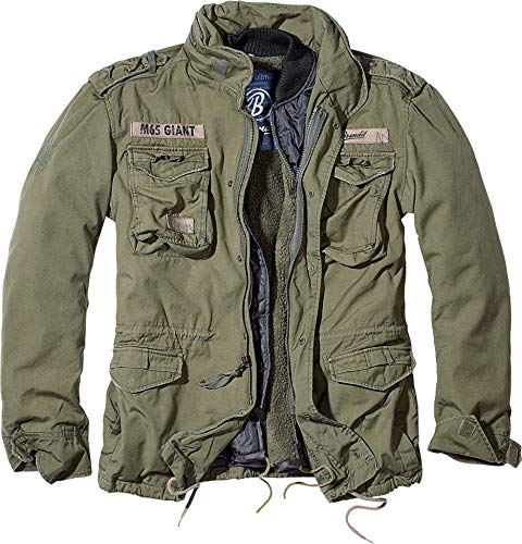 Brandit Men's M-65 Giant Jacket Olive Size S