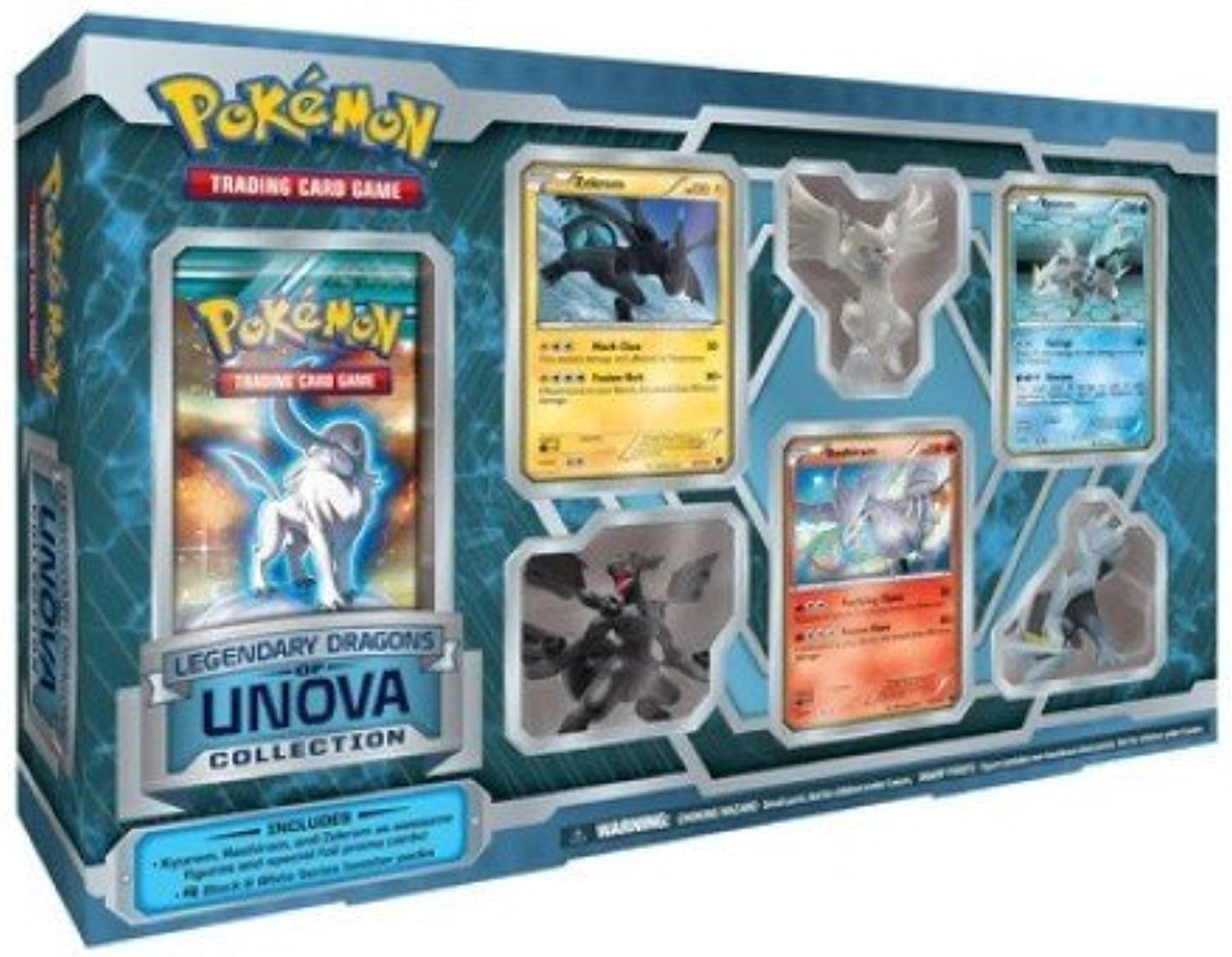 Pokemon Legendary Dragons of Unova Collection scatola [giocattolo]