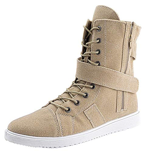 Dacawin Trend Men's Martin Boots England Boots Men's Military Boots High-Duty Tooling Boots
