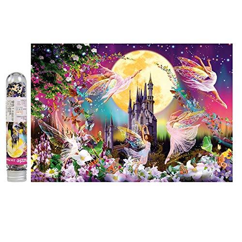 Mini Puzzle Prueba Tubo de bolsillo for Fairy Tale Mundial, el castillo de Elf, 234 pedazos, regalo del día de Adultos regalo creativo de descompresión rompecabezas de dibujos animados rompecabezas pa