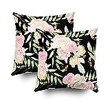 Ruthxiaoliang Kissenbezüge Home Throw Pillow Covers für Sofa abstrakte Akzent Anordnung Kunst Kunstwerk Hintergrund schöne Schönheit Blüte Blüte Botanica