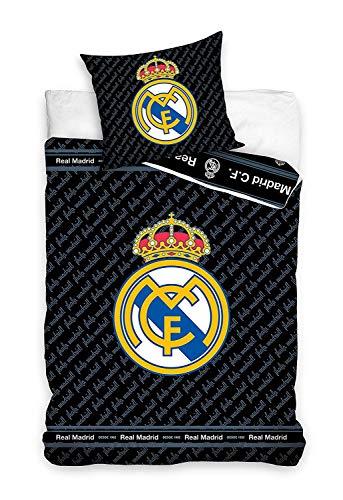 Real Madrid RM181052-135 Parure de lit en carbotex pour enfa