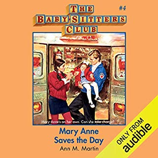 Mary Anne Saves the Day audiobook cover art