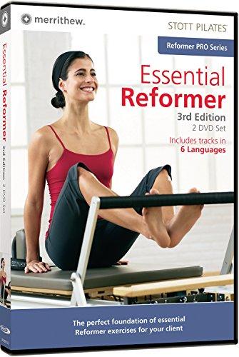 STOTT PILATES Essential Reformer 3. Edition–2Disc Set (6Sprachen)