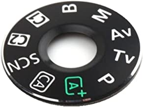 FANSONG Mode Dial Sticker Turntable Replacement Part for Canon EOS 6D