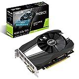 ASUS NVIDIA GeForce GTX 1660 Phoenix 6G Gaming Grafikkarte (PCIe 3.0, 6GB DDR5 Speicher, HDMI, DVI, Displayport)
