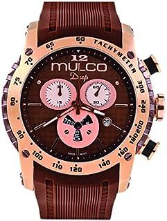 Relógio masculino Mulco Deep Scale Isa Brown MW1-29878-033