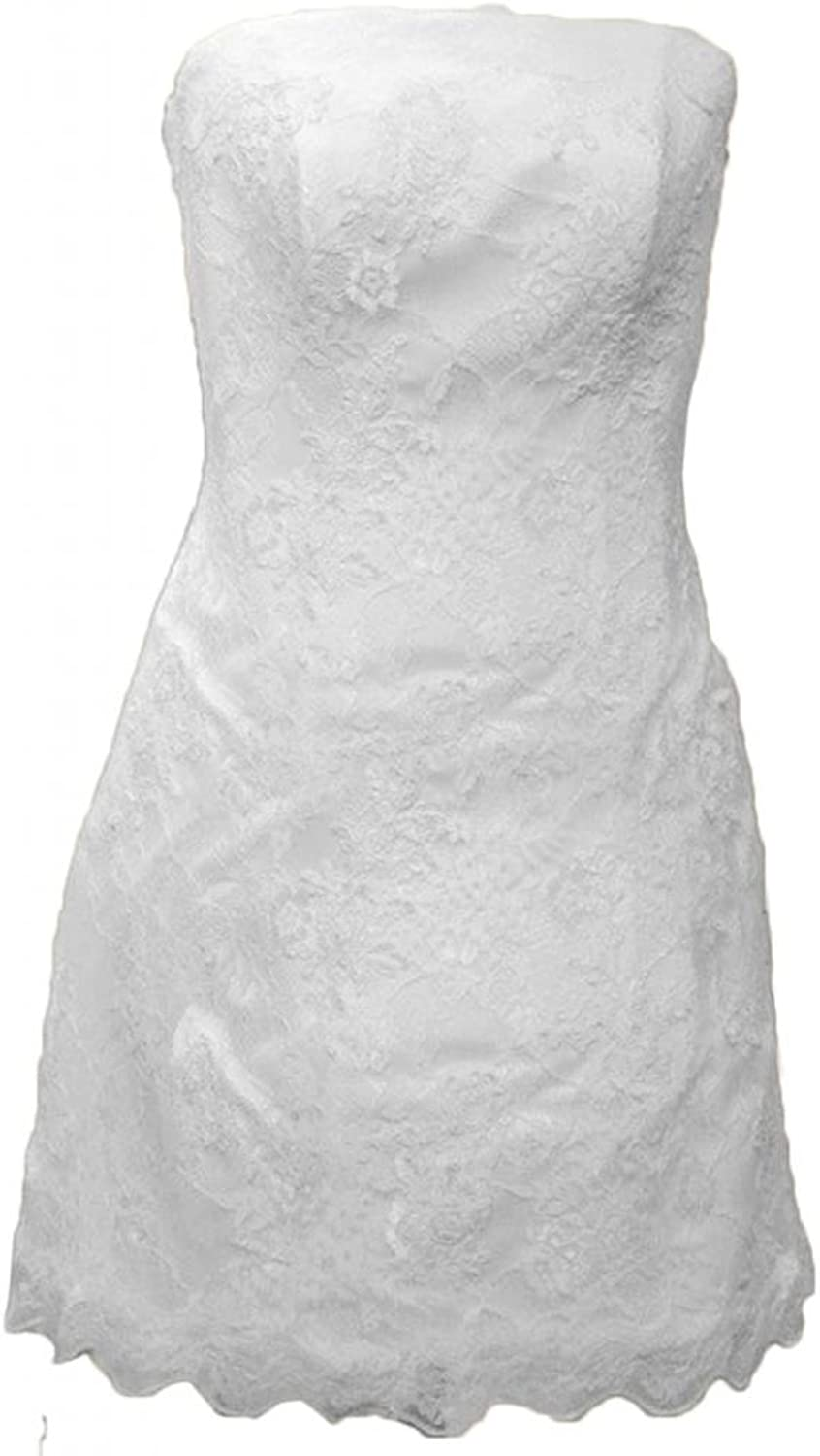 Angel Bride Mini Bridesmaid Party Cocktail Dresses with Strapless