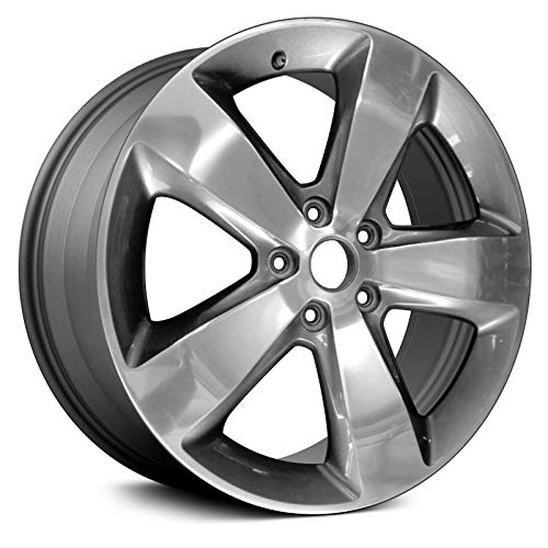 Partsynergy Replacement For New Aluminum Alloy Wheel Rim 20 Inch Fits 2014-2016 Jeep Grand Cherokee 127mm 5 Spokes