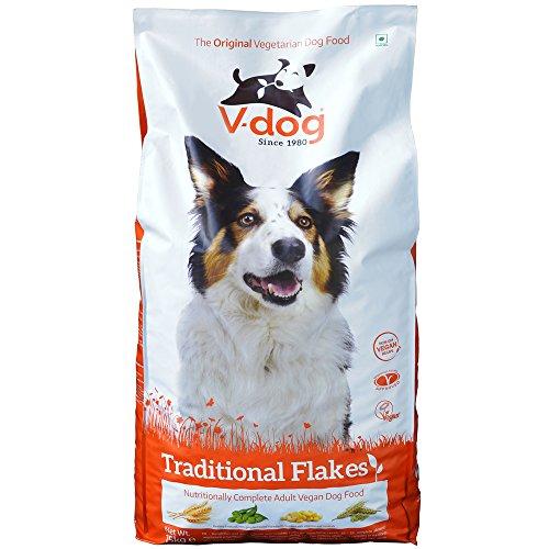 V-Dog hondenvoer droogvoer veganistische vlokken, per stuk verpakt (1 x 15 kg)
