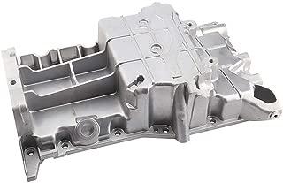 Schnecke Engine Oil Pan Fits select 2.2L CHEVROLET CAVALIER CLASSIC MALIBU OLDSMOBILE ALERO PONTIAC GRAND AM SUNFIRE SATURN ION L100 L200 L300 LS LS1 LW1 LW200 VUE replaces 19256218, 90537735 GMP59A