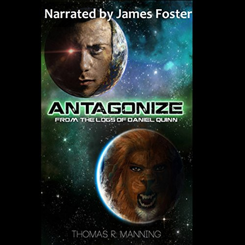Antagonize audiobook cover art