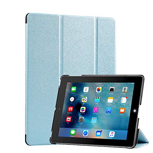Funda protectora para iPad de 7ª generación, funda para iPad 4 pulgadas 2019, tres pliegues con función de encendido y apagado automático para iPad 7ª generación de 10,2 pulgadas 2019 (A2197 A2198 A2200)