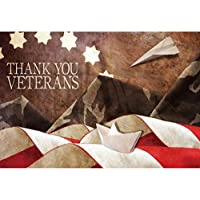 YongFoto Happy Veterans Day 背景スタジオ小道具