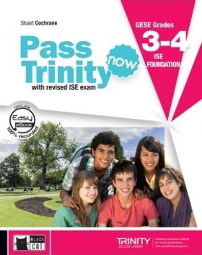 Pass trinity now book + dvd grades 3-4: Student's Book + CD 3-4 (Examinations)