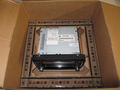 RNS 510 Navigation, Volkswagen 1T0 035 686 E, mit DAB+ Tuner und SSD Festplatte