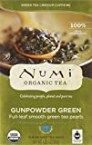 Numi Organic Tea Gunpowder Green Temple Heaven Green Tea - 18 Count (pack Of 6)
