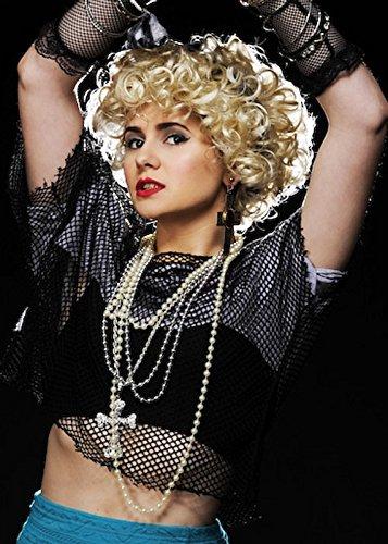 1980s Madonna Style Jewel Cross Necklace Set
