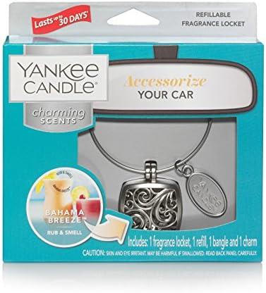 Yankee Candle 1585489 Auto Lufterfrischer Charming Scents Nachfüllpack Pink Sands 2 Stück Charming Scents Square Starter Kit Metall Küche Haushalt