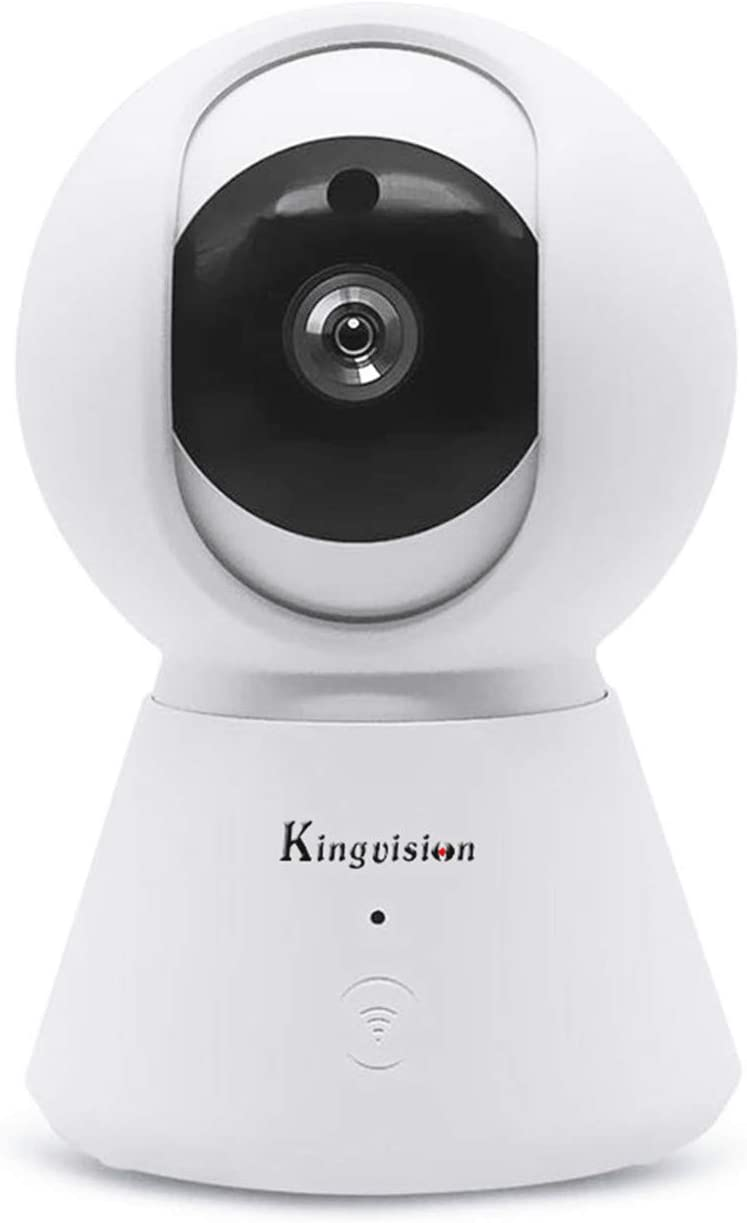 Kingvision 360° WiFi Indoor Security New product! New type Til free Pan 1080P Camera HD