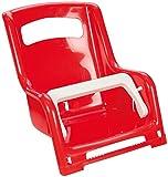 Lena 61168 - Gepäckträger Sitz für Puppen, ca. 27 cm, 2 fach farblich sortiert, Puppensitz für...