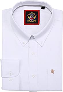 Long Sleeve Shirt, Mens English Oxford Button Down Collar