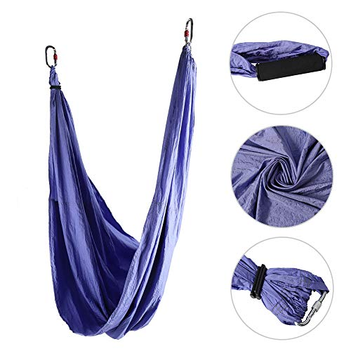 Save %9 Now! Drfeify Anti-Gravity Yoga Swing Sling, Nylon Fabrics Fitness Hanging Grip Inversion Yog...