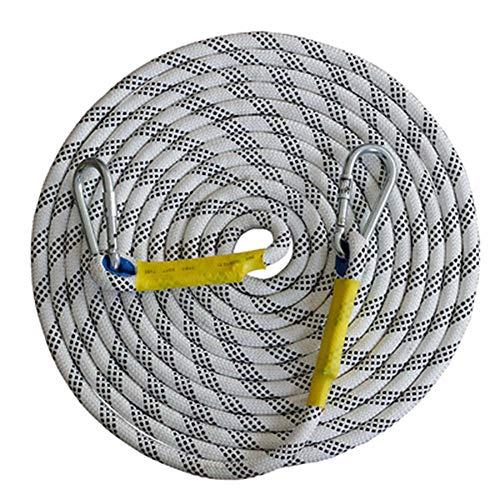 BEYONDTIME À Usages Multiples Alpinisme Corde Professionnelle Escalade Auxiliaire Corde Évasion Corde pour L'alpinisme Escalade De Sauvetage Protection D'ingénierie Exploration 16 Mm 3m
