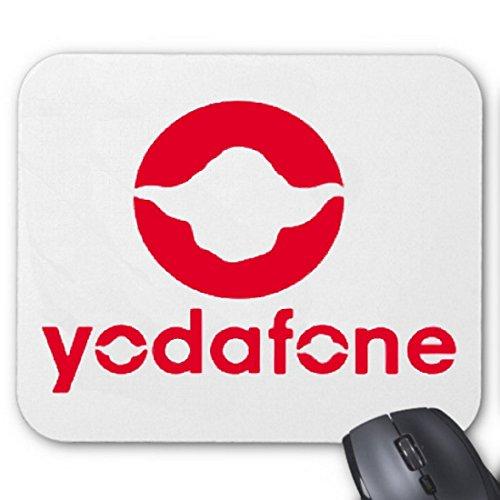 Reifen-Markt Mousepad (Mauspad) Yodafone Star Wars Jedi Ritter Vodafone Ner für ihren Laptop, Notebook oder Internet PC (mit Windows Linux usw.)
