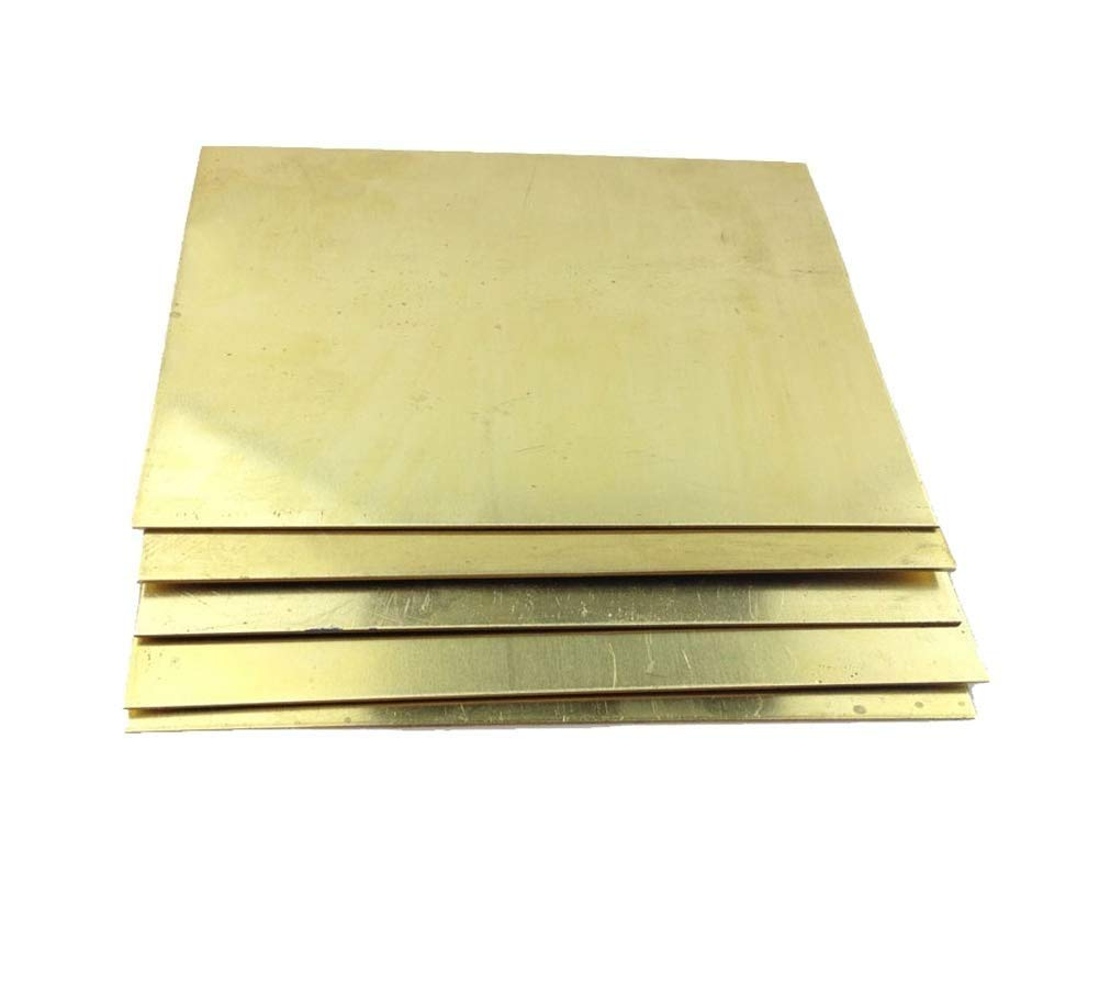 Brass Oakland Mall Plate Ranking TOP12 H62 CNC Frame Model Mold pad DIY Structure Las
